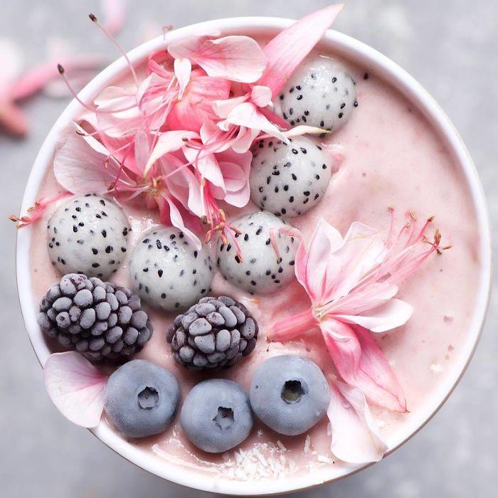 Все цветы, которые используются для оформления завтраков, абсолютно съедобны!