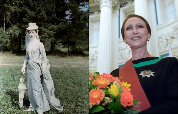 Роль кузины Вронского - Бетси Тверскую - воплотила в жизнь прима-балерина Майя Плисецкая.