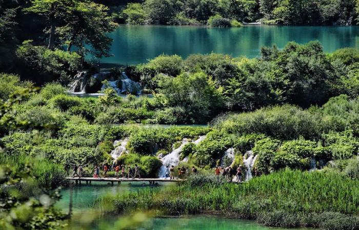 Одни из самых посещаемых природных достопримечательностей Европы.