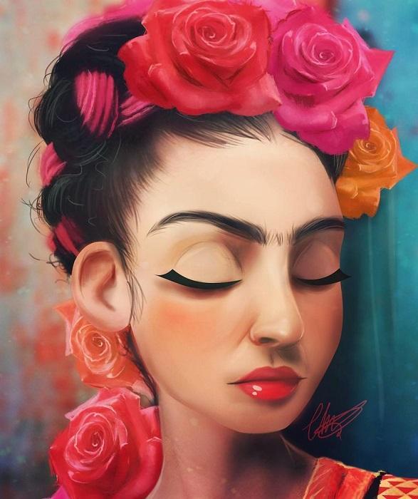Мексиканская художница, наиболее известная автопортретами.
