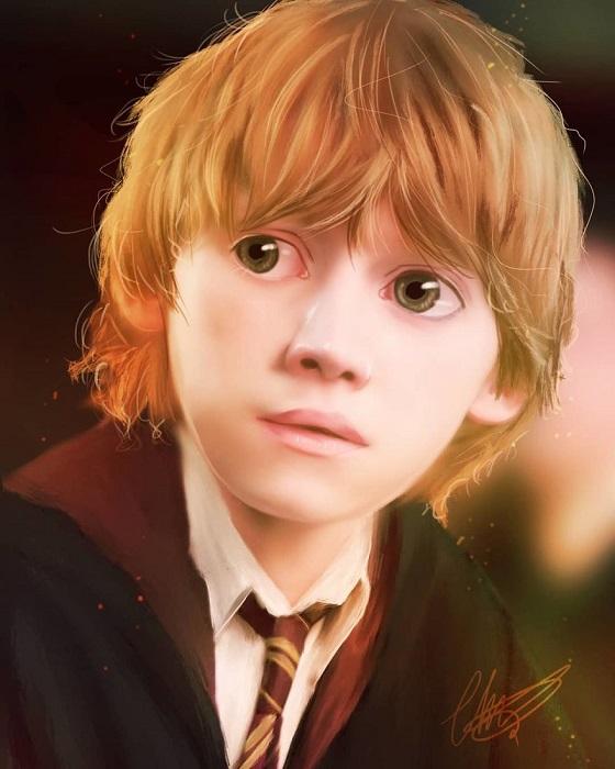 Лучший друг Гарри Поттера.
