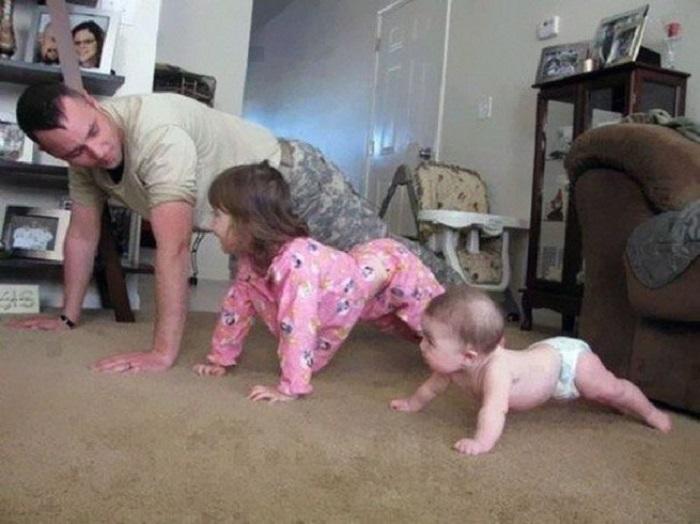 О фигуре детей необходимо заботиться с раннего детства.