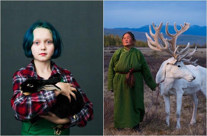 Победители и финалисты международного конкурса портретной фотографии.