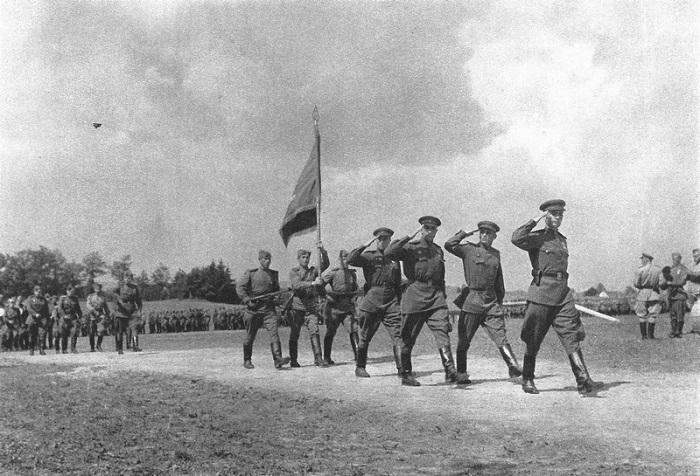 Советские войска в Чехословакии.