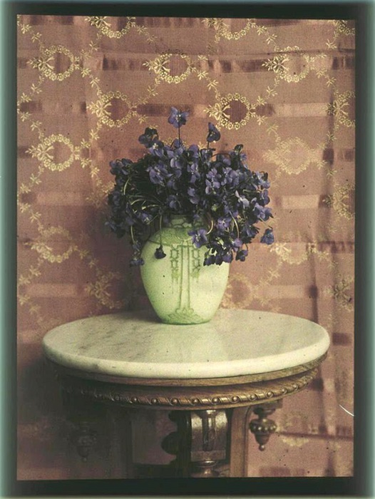 Цветы в вазе, 1910-е.