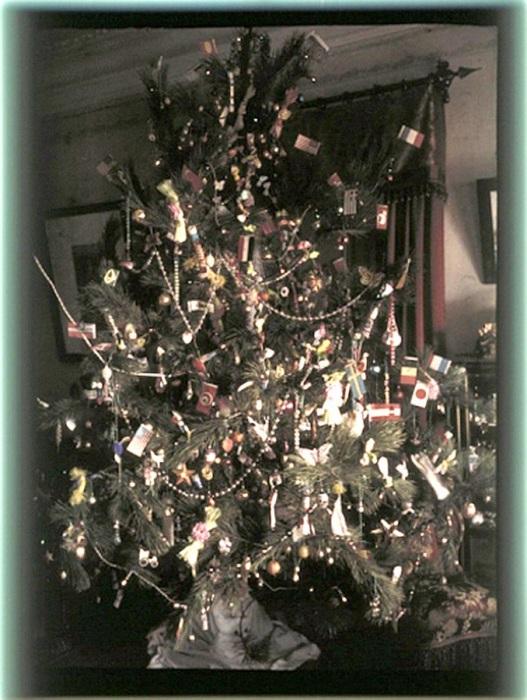 Рождественская елка в Никольском, 1911 год.