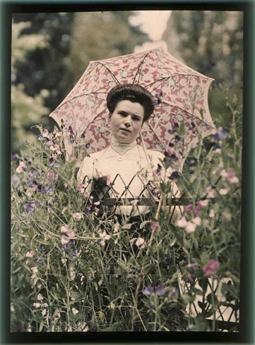 Модные причёски, 1914 год.