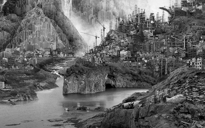 Из серии «Искусственная страна чудес». Фотограф Yongliang Yang (Ян Юнлян).