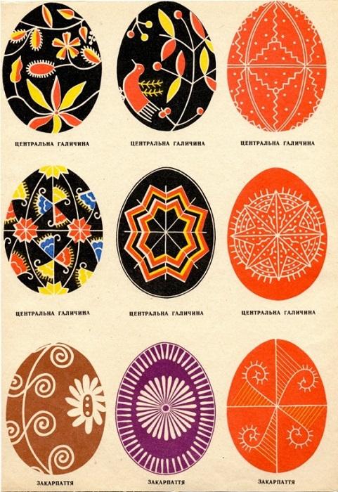 Точечки на писанках, считаются символом плодородия.
