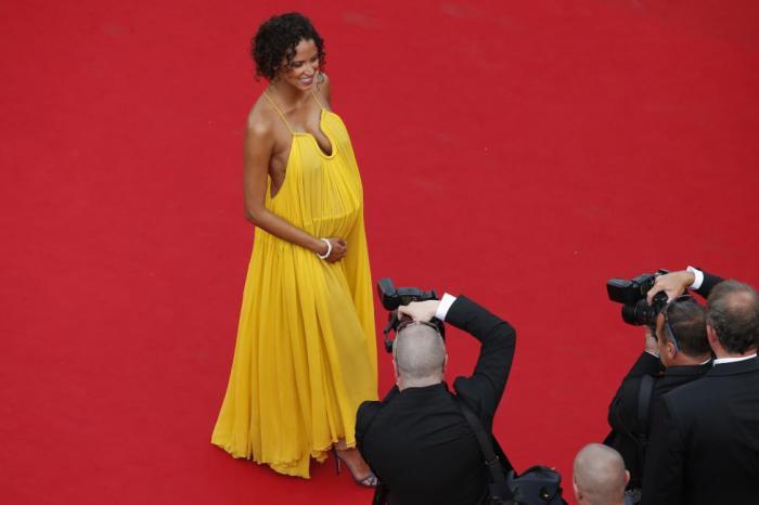 Знаменитая французская модель и актриса.