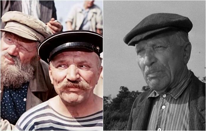 За свою творческую деятельность в кинематографе актер играл различных героев, среди них и роль пожилого матроса на барже.