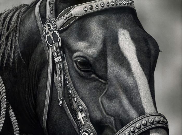 Американская художница смогла создать свой уникальный узнаваемый стиль – «живые» глаза, анатомическая точность, точная передача света и тени.