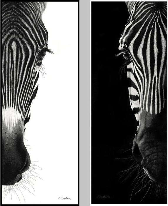 Глядя на совершенные портреты животных сложно поверить, что они созданы с помощью мельчайших царапин на глиняной доске.