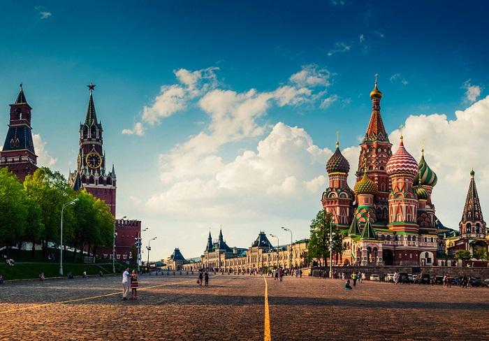 Главная и самая известная площадь Москвы.