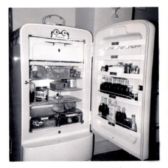 Содержимое холодильника.