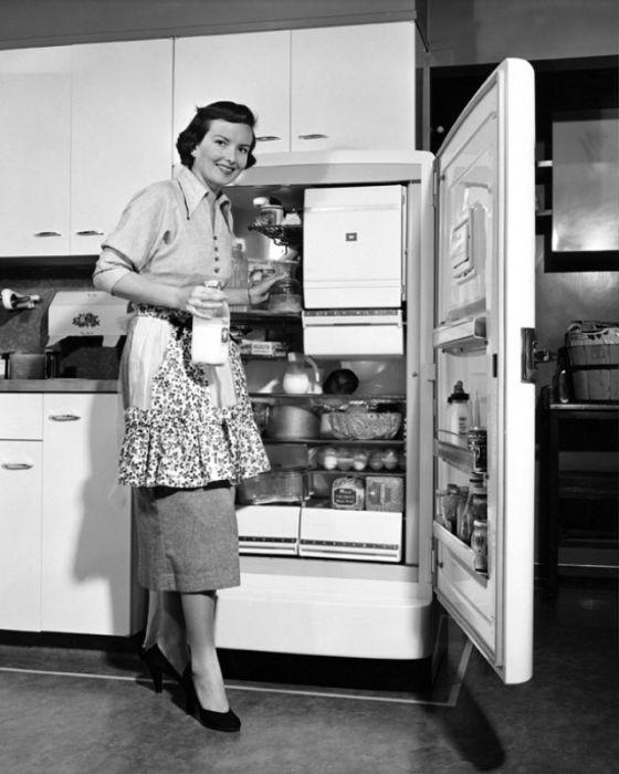 В преддверии праздника на полочках холодильников американских хозяек появлялись заранее приготовленные блюда.