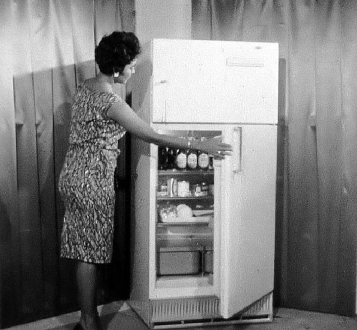 Заокеанский холодильник.
