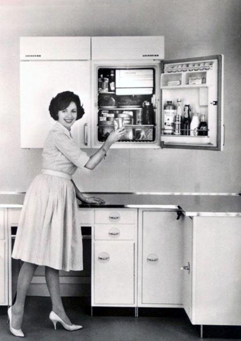 Полный холодильник - залог продовольственной безопасности.