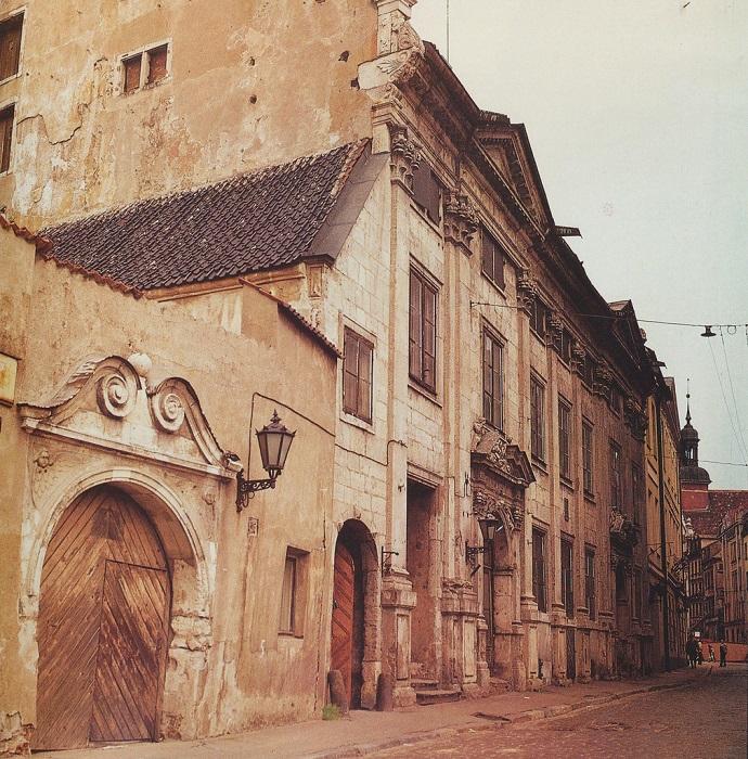 Улица Марсталю в Старой Риге.