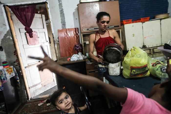 Реалии бразильских трущоб.
