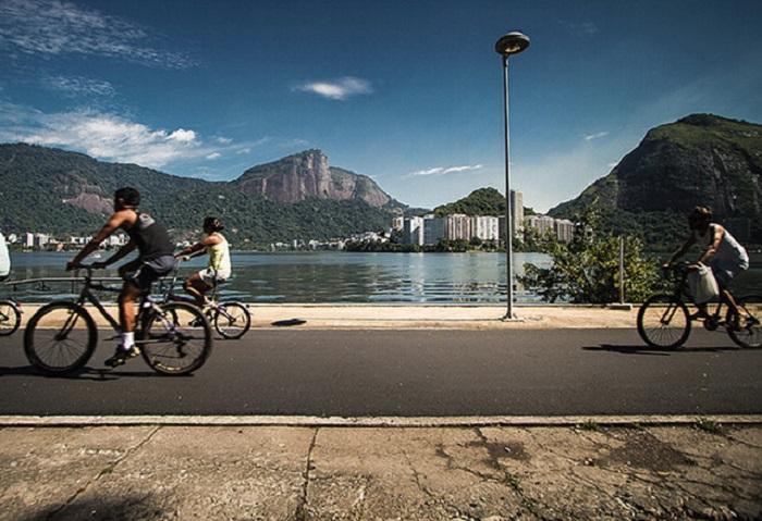 Рио-де-Жанейро - на велосипеде круглый год.