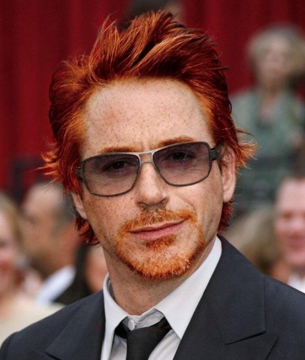 Актеры с красными волосами