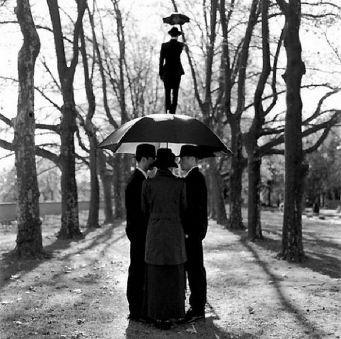 Чёрно-белый шедевр фотографии.