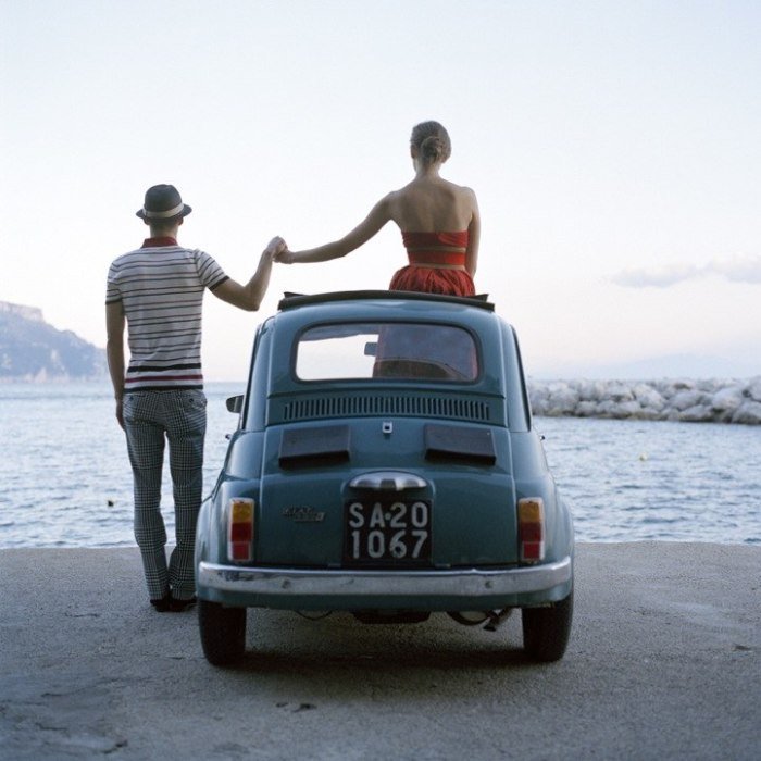 Романтическая фотография о любви.