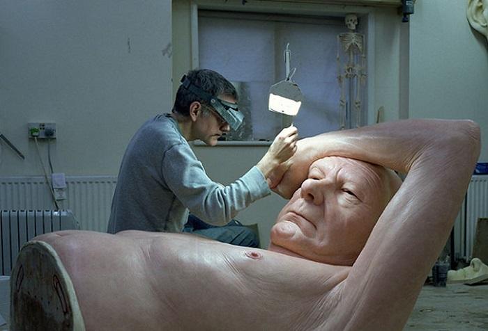 Студия австралийского скульптора.