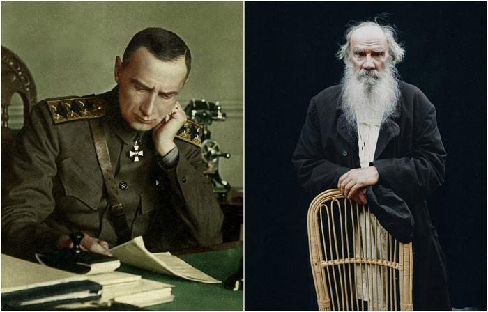 Раскрашенные исторические фотографии.