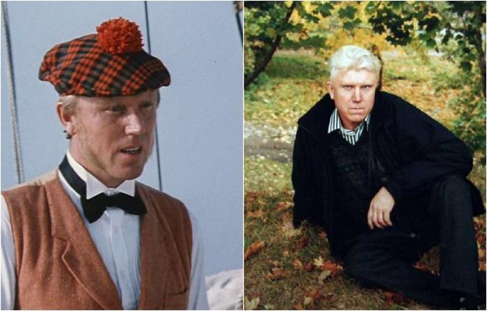 Актер был утвержден сразу на две роли в киноленте: первая роль - слуга лорда Гленарвана – Олбинет, вторая - слуга Жюля Верна – Анри.