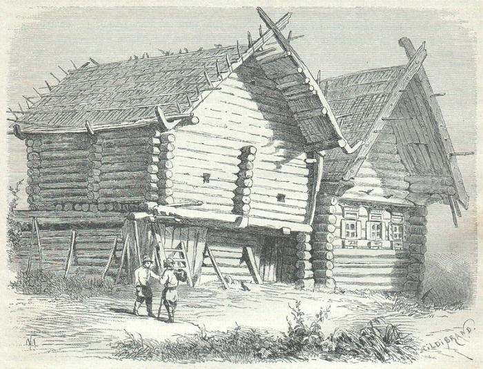 Особенности развития народной деревянной архитектуры.