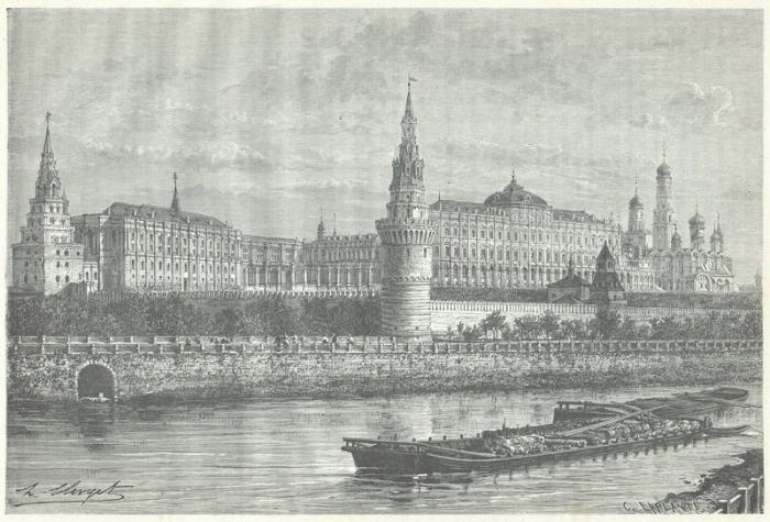Рисунки из 1872 года, на которых изображена Россия и её жители.