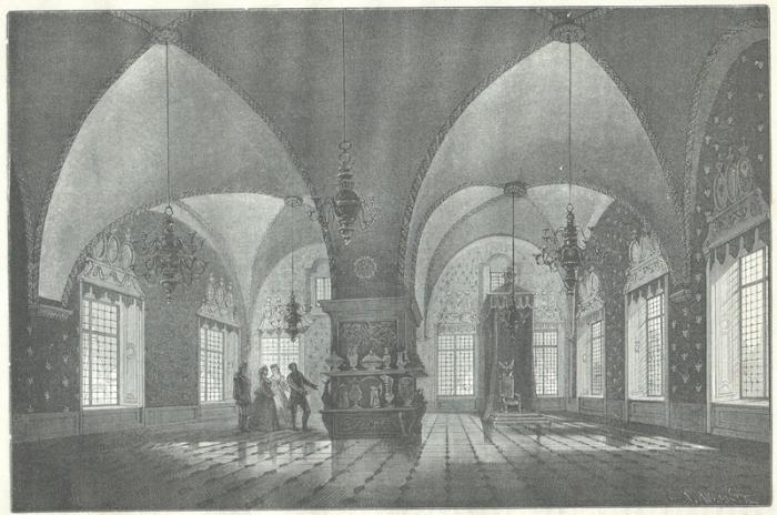 Теремной дворец Кремля.