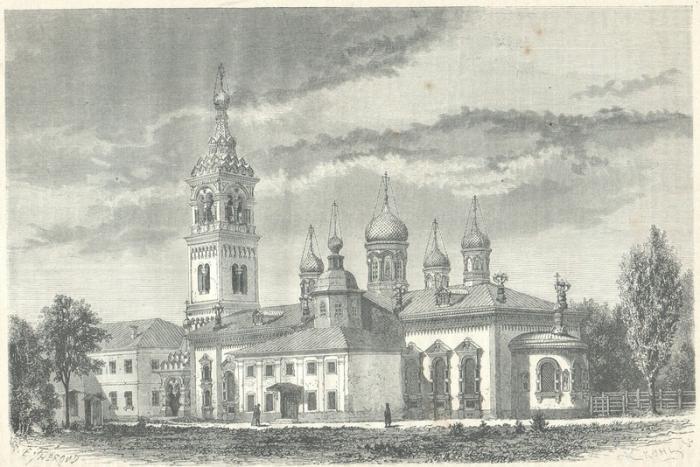 Это первый храм старообрядцев в Москве, построенный в 1907—1908 гг. архитектором И.Е.Бондаренко в стиле северных церквей.