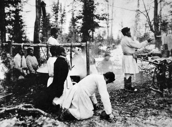 Праздники староверов, 1900 год.