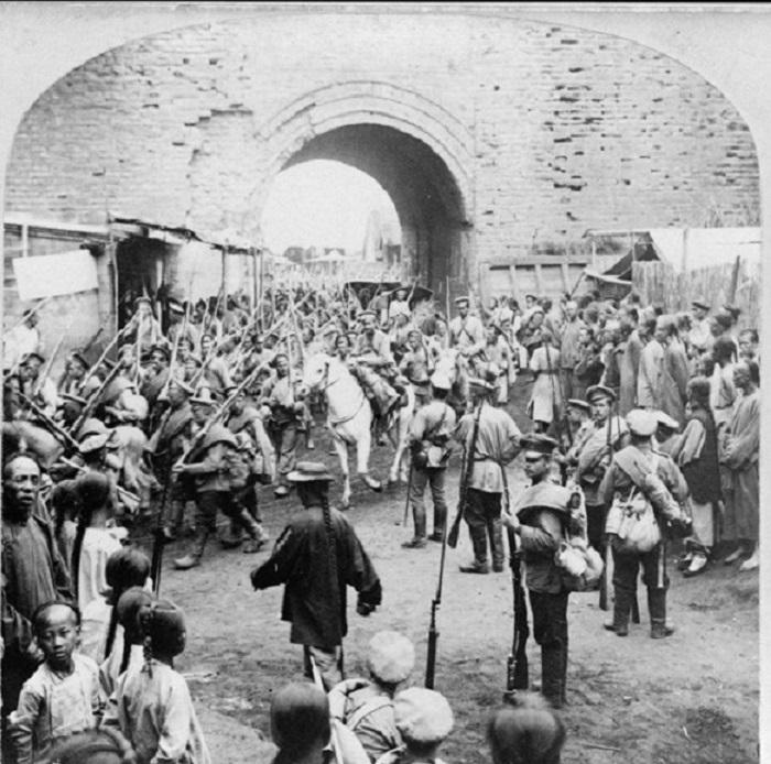 Русско-японская война, Маньчжурия, 1905 год.