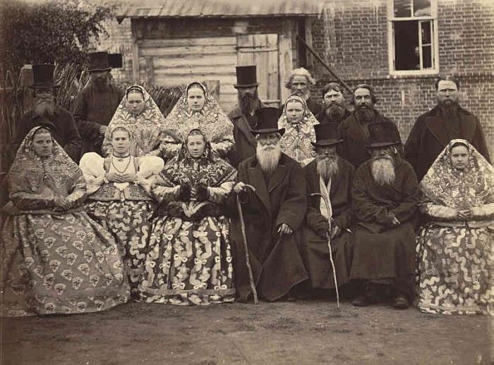 Русские крестьяне являлись совершенно отдельным от землевладельцев и знати классом.