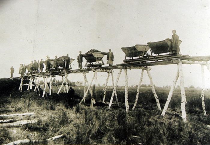 Начальные этапы строительства, Транссиб 1891 год.
