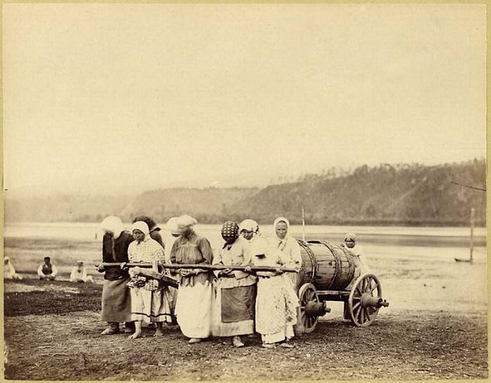 Женский каторжный труд, 1891 год.