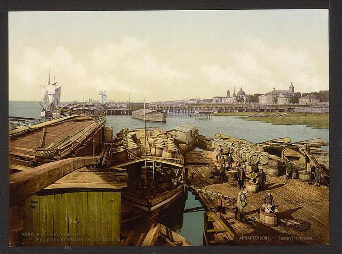 Архангельск, 1856 год.