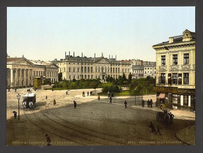 Варшава, 1851 год.