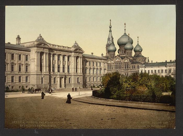 Одесса, 1887 год.