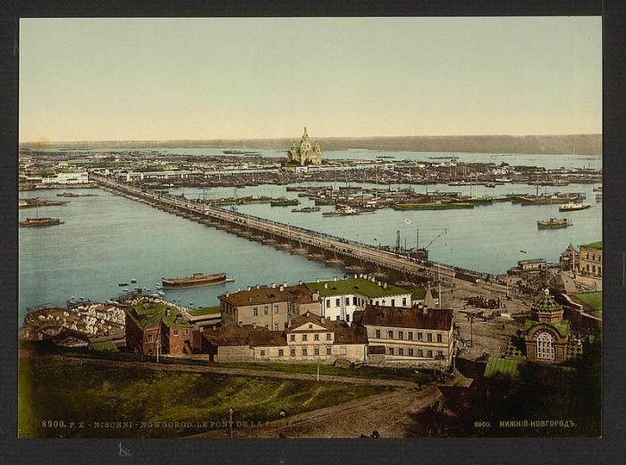Нижний Новгород, 1900  год.