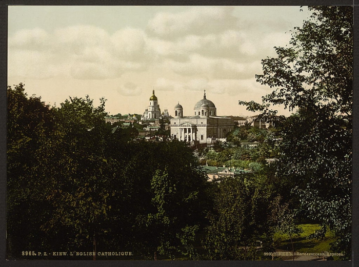 Киев, фото 1830-е годы.