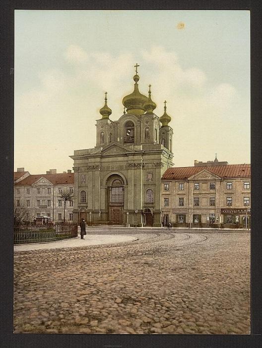 Варшава, 1889 год.