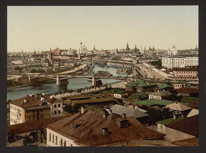 Москва, 1890-е годы.