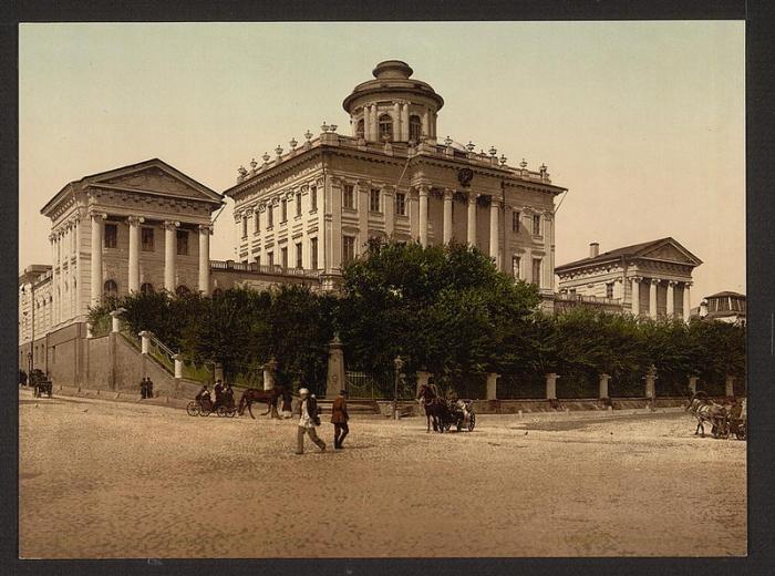 Москва, 1886 год.