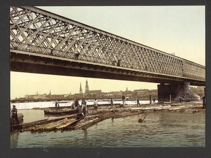 Варшава, 1891 год.