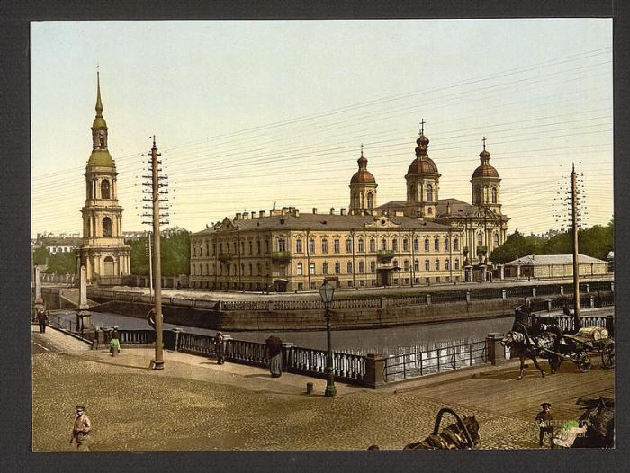 развитие санкт-петербурга середины 18 века:
